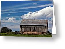 A Barn Greeting Card
