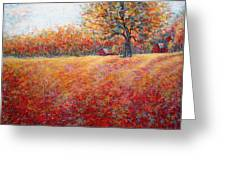 A Beautiful Autumn Day Greeting Card