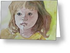 A Beautiful Child Greeting Card