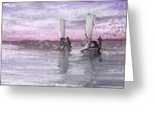 A Beautiful Morning For Fishing Greeting Card