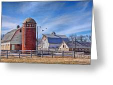 A Beautiful Quilt Barn Greeting Card