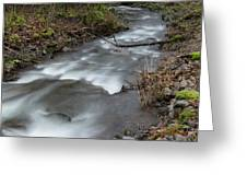 A Bend In The Flow Greeting Card
