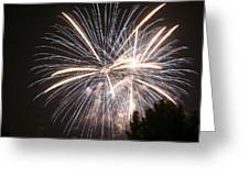 A Big Boom Greeting Card by Monica Lahr