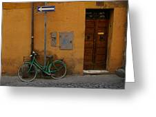 A Bike In Rome Greeting Card