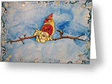 A Birds Delight Greeting Card