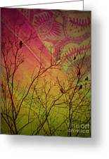 A Bird's Dream Of Summer Greeting Card