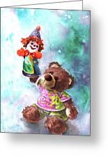 A Birthday Clown For Miki De Goodaboom Greeting Card