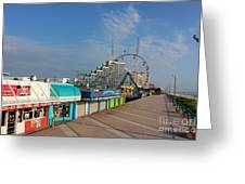 A Boardwalk Greeting Card