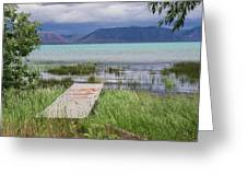 A Boardwalk To Bear Lake Greeting Card