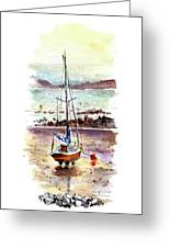 A Boat On Anglesey 01 Greeting Card