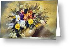 A Bouquet For Elizabeth Greeting Card