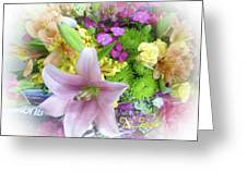 A Bouquet For My Love 46 Greeting Card