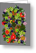 A Bouquet Greeting Card
