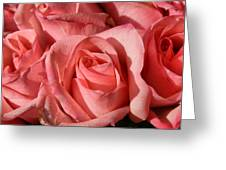 A Bouquet Of Roses Greeting Card