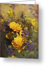 A Bouquet Of Spring  Greeting Card