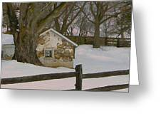 A Brandywine Winter Greeting Card