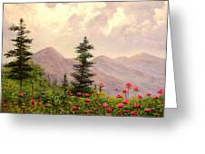 A Breath Of Fresh Country Air Greeting Card