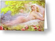 A Brides Fantasy Greeting Card