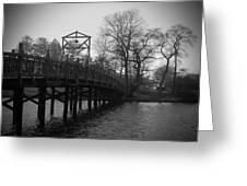Homage To Spring Lake Greeting Card