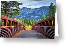 A Bridge To Beauty Greeting Card