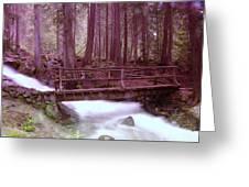 A Bridge To Paradise Greeting Card