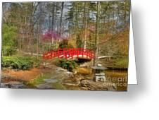 A Bridge To Spring Greeting Card