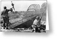 A Bridge Too Far Publicity Photo Number 2 1977 Greeting Card