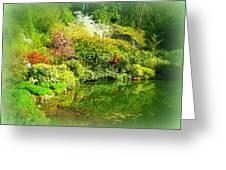 A Bright Garden Greeting Card