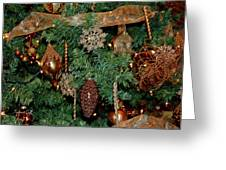 A Bronze Christmas Greeting Card
