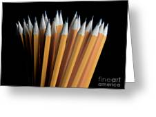A Bunch Of Pencils Greeting Card