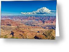 A Canyon Grand Greeting Card