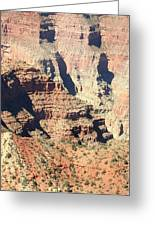 A Canyon Scene Greeting Card