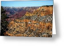 A Canyon Winter Greeting Card