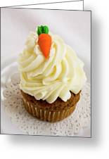 A Carrot Muffin Greeting Card