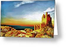 A Castle In Spain Greeting Card