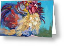 A Chicken Day Greeting Card