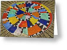 A Chip Off The Ole Mosaic Greeting Card