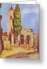A Church At Cagnes Greeting Card