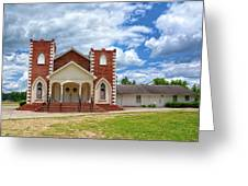 A Church In Sc Greeting Card