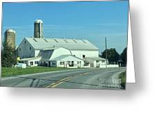 A Clear Amish Day Greeting Card