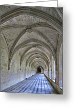 A Cloister Gallery Greeting Card