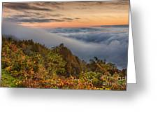 A Cloudy August Morning Greeting Card