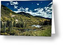 A Colorado Autumn Greeting Card