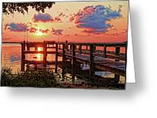 A Colorful Sunrise Greeting Card
