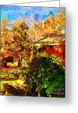 A Corner Of Autumn  Greeting Card