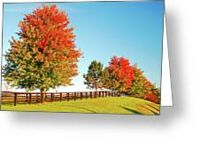 A Country Autumn Greeting Card