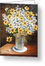 A Country Bouquet Greeting Card