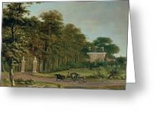 A Country House Greeting Card