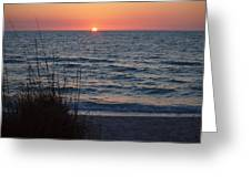 A Country Sunset Greeting Card