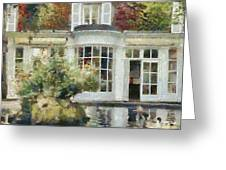 A Cozy House In Brittany Greeting Card